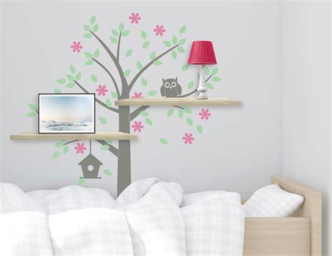 Wandtattoo Baum Kinderzimmer by Wandtattoo Baum Mit Eule S 252 223 Es Motiv F 252 R Das Kinderzimmer