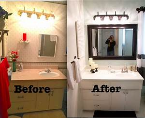 leaving the ivory tower budget bathroom remodel With bathroom redos on the cheap
