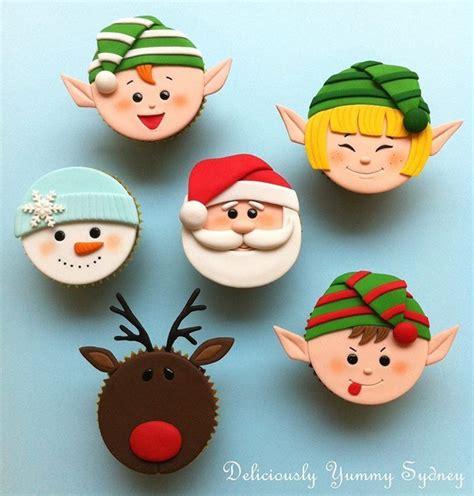 1000+ Ideas About Santa Cupcakes On Pinterest Christmas
