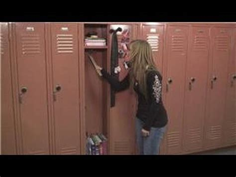 School Lockers : How Big Is a Locker? - YouTube