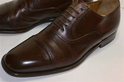 Brown Shoes : Mens Moreschi Brown Dress Shoes