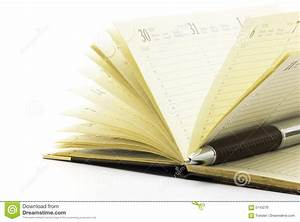 Pen On Notebook Royalty Free Stock Image - Image: 5143276