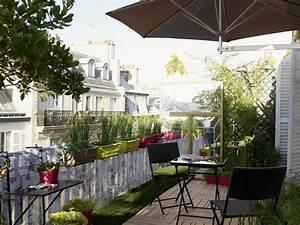 idee deco terrasse balcon With lovely idee de terrasse exterieur 4 photo suivante