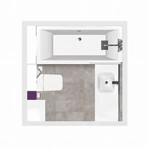 Salle de bain bathbox baignoire wc suspendu meuble 4 m2 for Salle de bain 4 m2