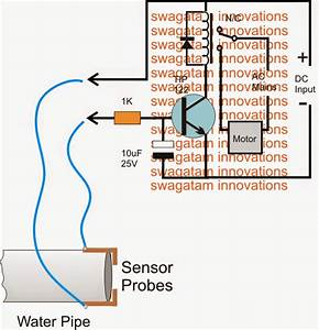 Municipal Water Supply Sensor Controller Circuit