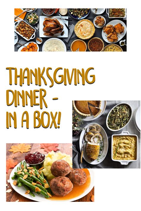 If you need to components them any earlier than a few if you're going to fry your turkey this thanksgiving, be extra careful. Thanksgiving Dinner In A Box! - hello subscription