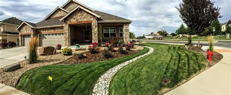 Lehrer Fireplace Patio Highlands Ranch Co by Landscaping Sprinkler Repair Lawncare Aeration Lawnpros