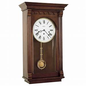 Pendulum Wall Clock with Westminster Chime Howard Miller