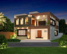 marla modern home design  front elevation lahore