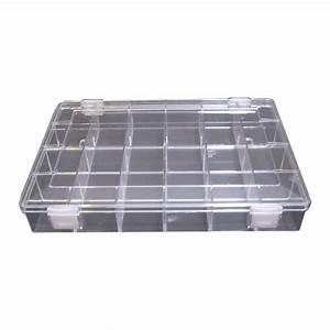 Boîte à Thé Compartimentée : box with 24 compartments stackable bo te compartiment e 24 empilable ~ Teatrodelosmanantiales.com Idées de Décoration