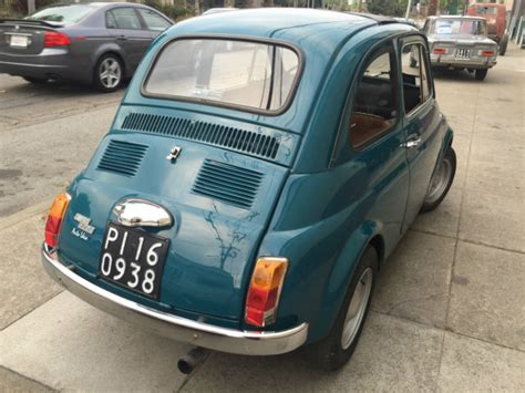 Fiat 500 Owners by 1971 Fiat 500 F 226 2 Owner Car 226 Original Plates Runs