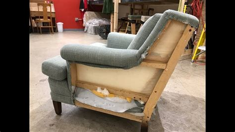 arm  wing reupholster aunt bea diy