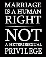 Gay rights on marriage