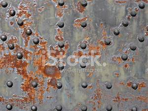 Rusted Metal Texture With Rivets stock photos - FreeImages.com
