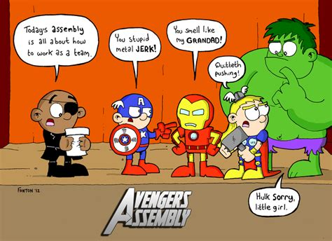 Avengers Assembly! By Thecarrottykid On Deviantart
