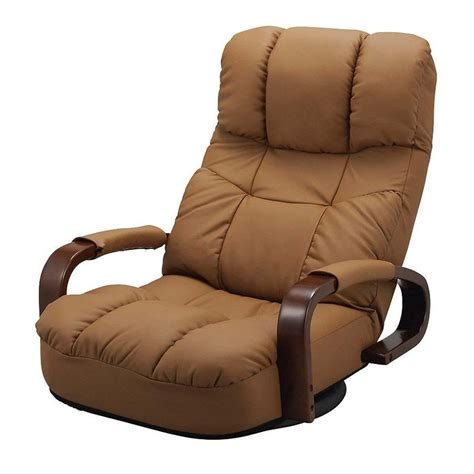 New Style Recliners by Floor Reclining Swivel Chair 360 Degree Rotation Japanese