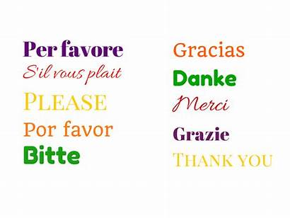 Languages Different Thank Every Phrases Learn Please