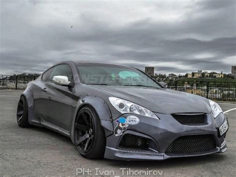 Widebody kit V.2 for Hyundai Genesis Coupe for Hyundai Genesis Coupe | Monsterservice | Hyundai ...