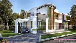 Moderne Design Villa : new modern villa plan kerala home design and floor plans ~ Sanjose-hotels-ca.com Haus und Dekorationen