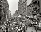 "vintageeveryday: "" A market in Little Italy, Manhattan ..."
