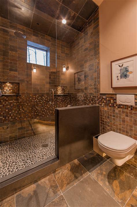 hinman creek rustic bathroom denver  kelly