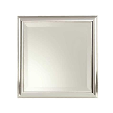 Chrome Framed Bathroom Mirror by Chrome Framed Mirror Home Design Ideas