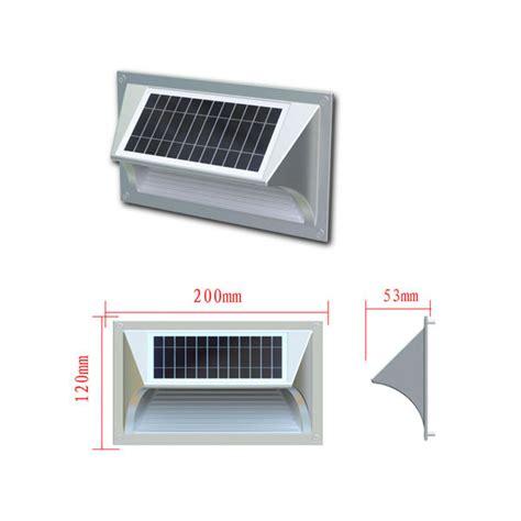 eclairage solaire led ip64 alu avec d 233 tecteur de mouvement