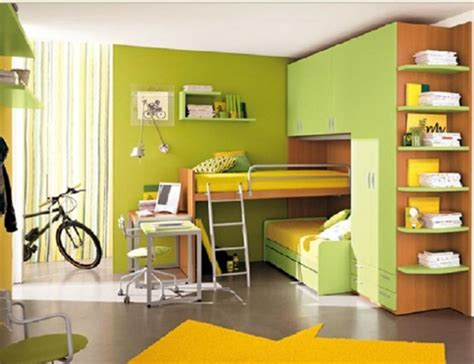 multi functional beds  small kids bedroom interior design