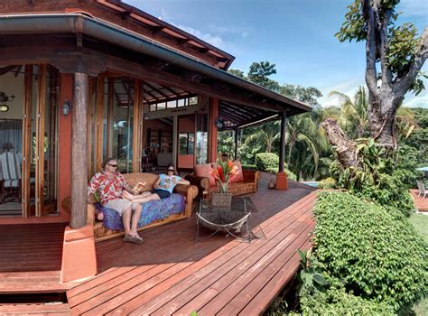 dominical ocean front vacation rental private pool air