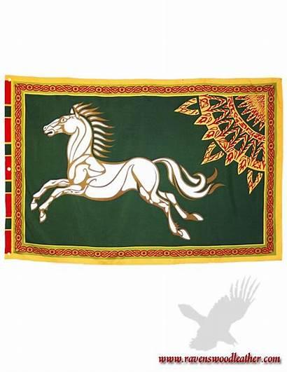 Flag Lotr Banner Flags Tolkien Ravenswoodleather Hobbit