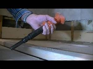 how to nail into concrete for shower curb on slab With how to nail into concrete floor