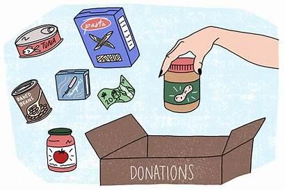 Donation Animated Box Items Need Banks Really