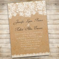 lace wedding invitations vintage floral lace wedding invitations ewi270 as low as 0 94