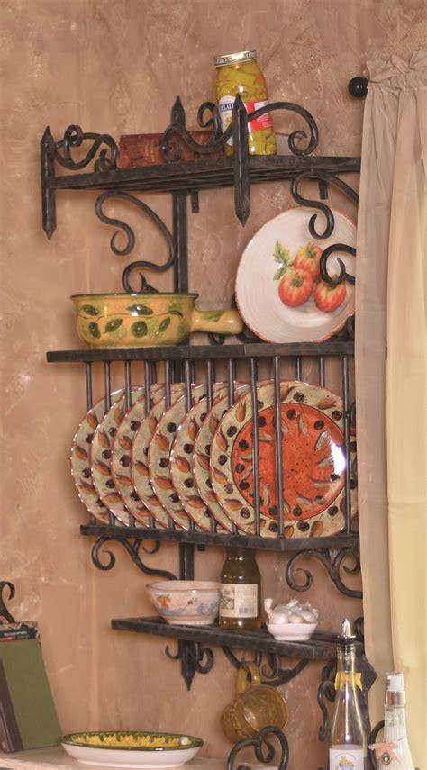siena plate wall rack  bella toscana