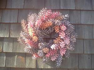 Easter, Wreath, Spring, Wreath, Painted, Pine, Cone, Wreath
