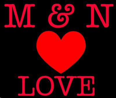 M & N Love Love Créé Par + Ilovegeneratorcom