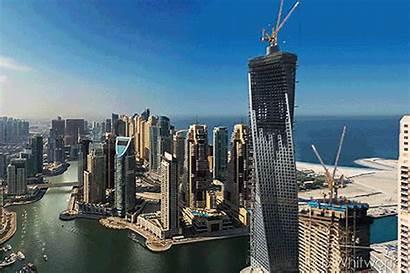 Dubai Construction Gifs Cities Visit Architect Must