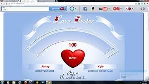 Love Tester ;D ... Love Tester