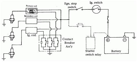 Kawasaki Ignition Coil Wiring Diagram by Ignition System Wiring Diagram Gallery