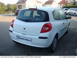 Voiture Clio 3 : renault clio 3 1 5l dci 65cv societe 2008 occasion auto renault clio 3 ~ Gottalentnigeria.com Avis de Voitures
