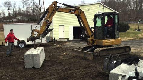ultimate mini excavator challenge kubota   cat  strength test youtube