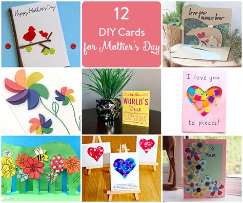 mothers day ideas at home 12 mother s day card ideas to try the inspired home