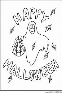 Gruselige Bastelideen Zu Halloween : ausmalbild zu halloween motive und bilder zum ausdrucken ~ Lizthompson.info Haus und Dekorationen