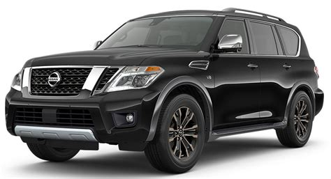 nissan armada midnight edition 2017 nissan armada pricing and availability