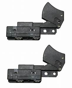 2  Trigger On Off Power Saw Switch For Skilsaw Bosch