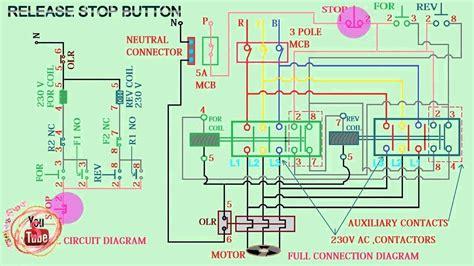 3 pole contactor wiring diagram wellread me