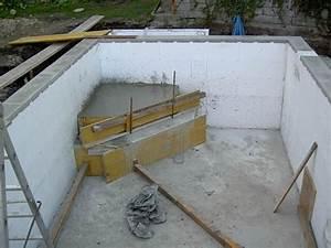 Steine Für Poolumrandung : einstieg f r den pool betonieren ~ Articles-book.com Haus und Dekorationen