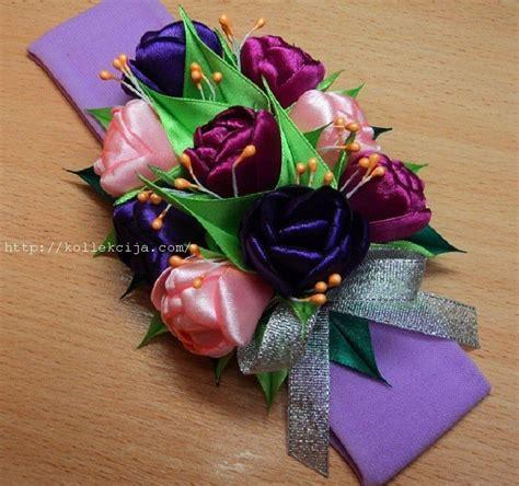 satin ribbon craft ideas tulips of satin ribbon satin craft and simple craft ideas 5364