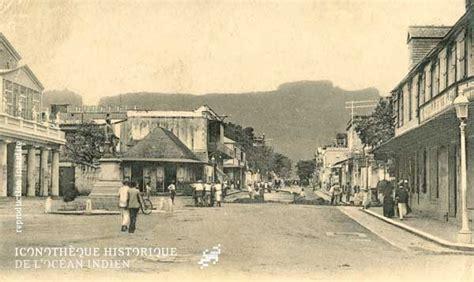 theater square port louis 1917 mauritius historical