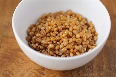 wheat berry swiss chard wraps with wheat berry salad